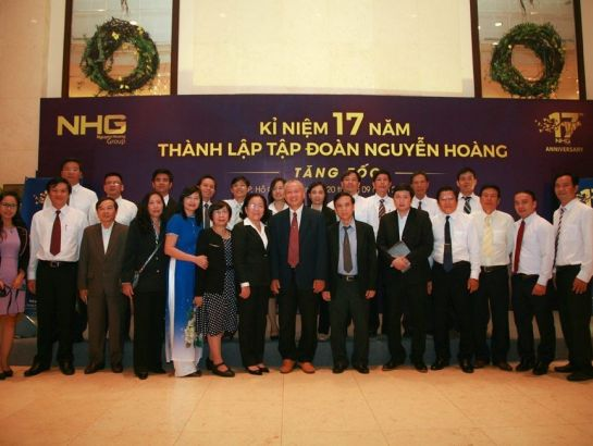 The 17th anniversary celebration of NHG