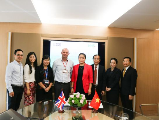 On November 21, NHG and the British Council signed a formal authorization in organizing the IELTS exam, which begins the process for NHG's evaluation and improvement of English teaching quality particularly in Vietnam