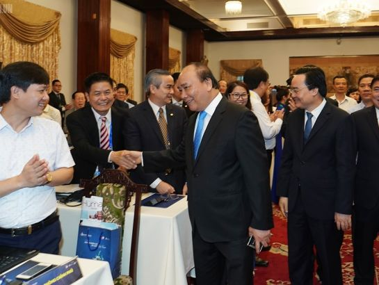 Prime Minister attended the Vietnam Tourism Human Resources Forum. (Resources: baochinhphu.vn)