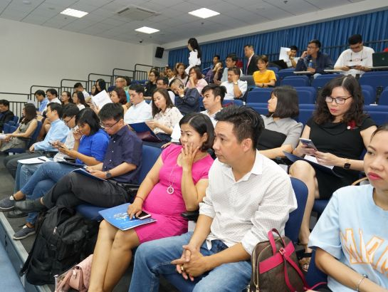 Reporters in economic, tourism and education sectors participated in the event.