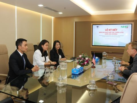 NHG and ASG signed the Memorandum of agreement for strategic partnership on August 8th at the group office.